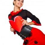 Beautiful spanish dancer. — Stock Photo