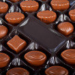 Chocolate candies. - Stock Photo