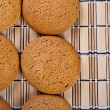 Oatmeal cookie. - Stock Photo
