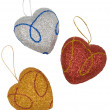 Christmas Hearts. — Stock Photo