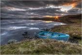 Angling boat — Stock Photo