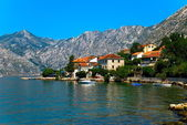 Kotor bay in Montenegro — Stock Photo