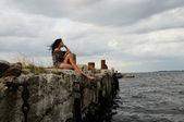 Solitude And Freedom — Stock Photo