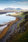 Bergslandskapet vid havet — Stockfoto