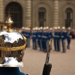 Royal guard in Sweden - Stock Photo