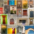 Stock Photo: Doors of all kinds