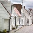 Pictoresque streets of Stavanger, Norway — Stock Photo