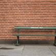 Stock Photo: Racist bench - Europeans only