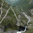 Stock Photo: Road of Trolls, Norway