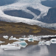Melting glacier in Iceland - effect of global warming — Stock Photo #9283581