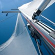 Yacht sails - Stock Photo