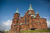 Catedral ortodoxa de uspenski, helsinki, finlandia — Foto de Stock