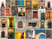 Doors of all kinds — Stock Photo