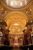 Interior of basilica — Stock Photo