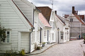 Pictoresque streets of Stavanger, Norway — Stock Photo