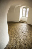 Historical spiral hallway — Stock Photo