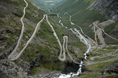 Road of the Trolls, Norway — Stock Photo