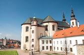 Cathedral in Litomysl, Czech Republic — Stockfoto
