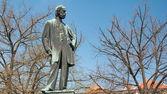 Statue of Bedrich Smetana, famous composer — Stock Photo