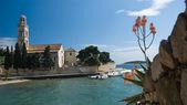 Kostel v Dalmatin — Stock fotografie