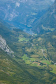 Norway, wild country with fjords — Stock Photo