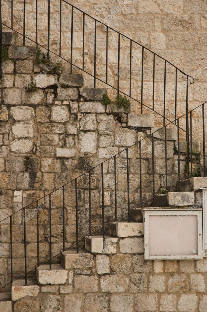 Exterior stone stairs — Stock Photo #9283113
