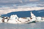 Glacier lake in Iceland — Stock Photo