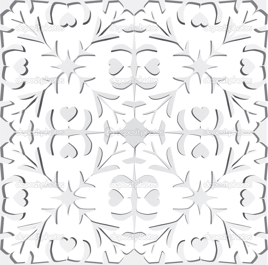 Paper cutting background — Vektorgrafik #10246898
