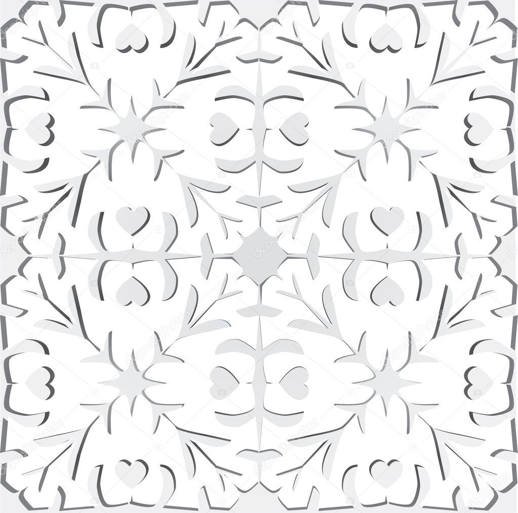Paper cutting background  Stockvektor #10246898