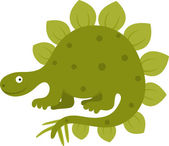 Stegosaurus — Stock Vector