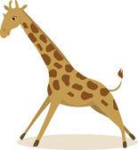 Giraffe (vector) — Stock Vector