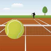 Tennis (Vector) — Stock Vector