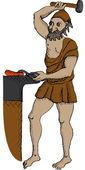 Hephaestus — Stock Vector