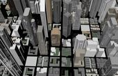 Abstract city concept — Stock Photo