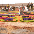 Semana Santa carpet (alfombra) — Stock Photo