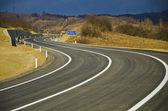 Detour road — Stock Photo