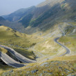 Постер, плакат: Switchbacks in the mountains