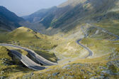 Switchbacks in the mountains — Stock Photo