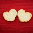 Bread in the shape of hearts - 