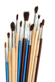 Brushes of various sizes — Stock Photo