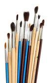Irili ufaklı fırçalar — Stok fotoğraf