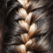 Stock Photo: Girlish braid