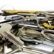 The variety of keys — Stock Photo