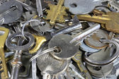 Many keys — Stock Photo