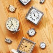 Old mechanical clock — Stockfoto