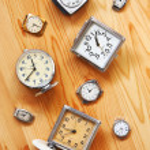 Старые механические часы — Стоковое фото