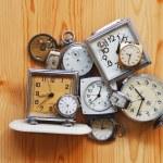 Кучу часы — Стоковое фото
