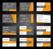 Business card set for you business — Stock Vector