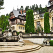 Garden of Peles Castel-Sinaia — Stock Photo