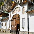 Stock Photo: IalomitMonastery Entrance